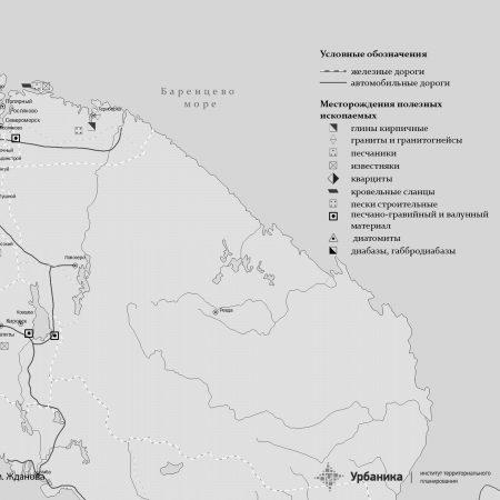 Месторождения полезных ископаемых для производства строительных материалов в Мурмаснкой области