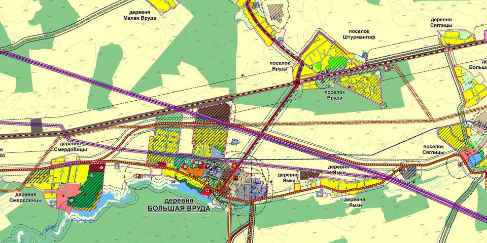 Перспективы развития административного центра поселения