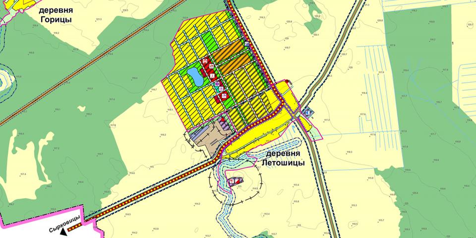 Перспективы коттеджного строительства в поселении