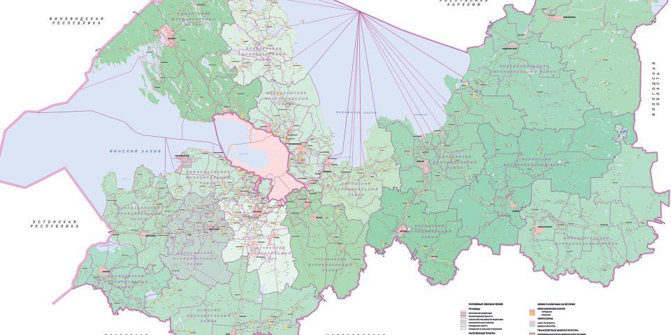 Границы муниципальных образований