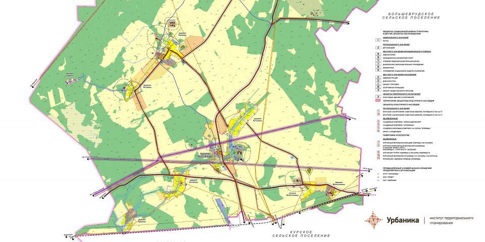 Эскиз вариантов территориального планирования