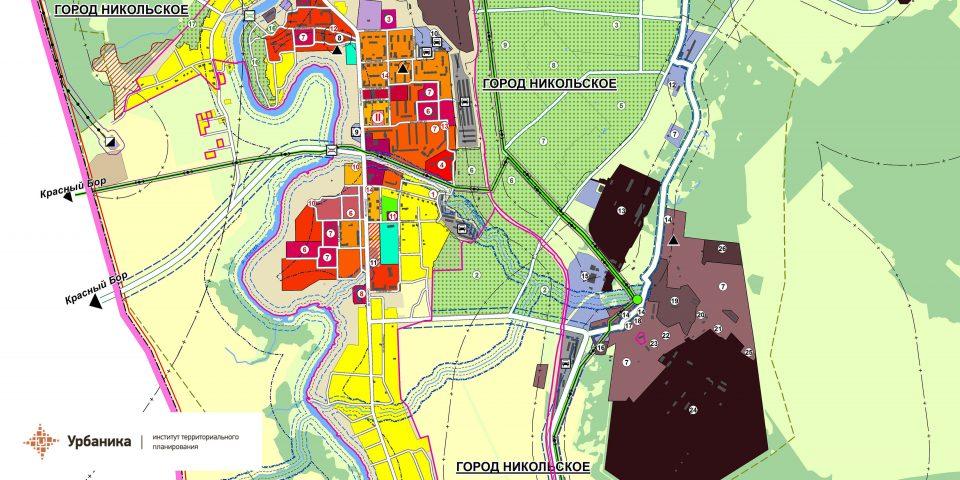 Современное использование территории поселения