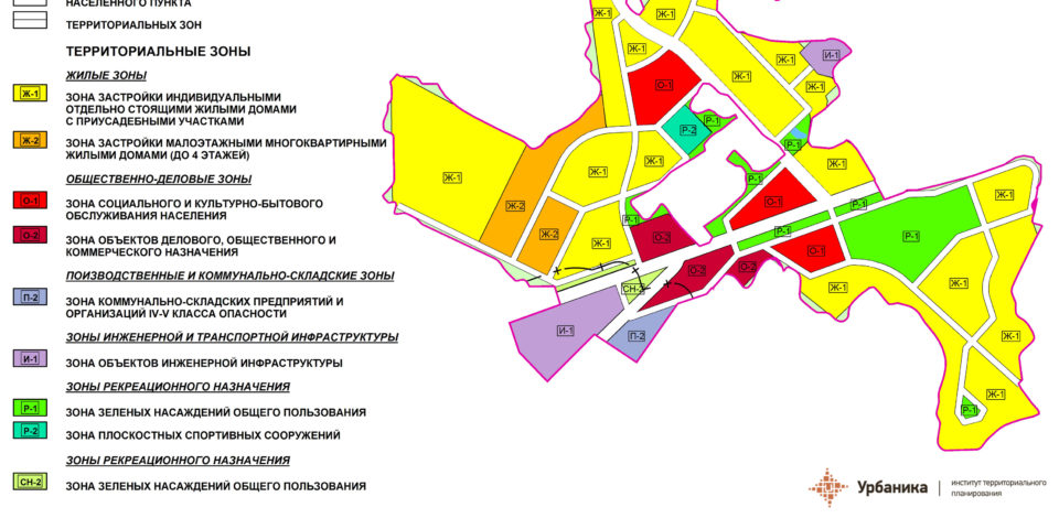 Градостроительное зонирование. Деревня Муромицы