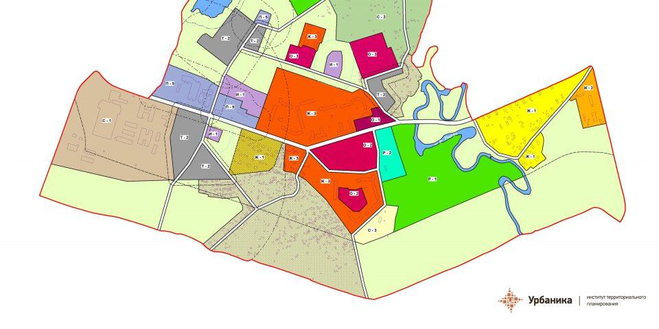 Градостроительное зонирование. Поселок Сельцо