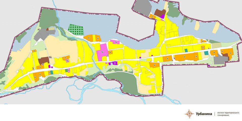 Существующее функциональное зонирование