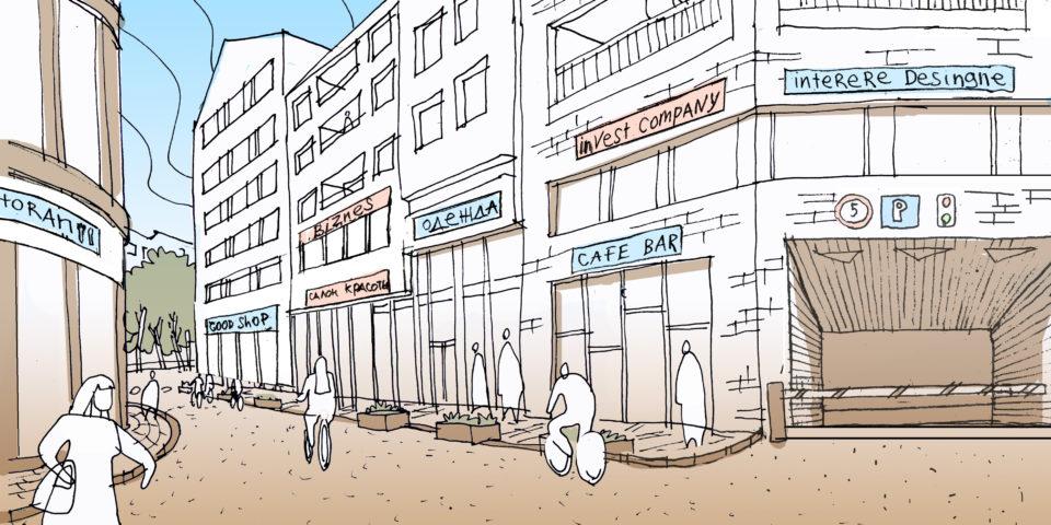 Образ развития Петербурга. Многофункциональный жилой район средней этажности