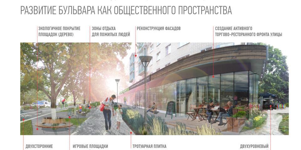 Стратегия развития бульвара как общественного просранства