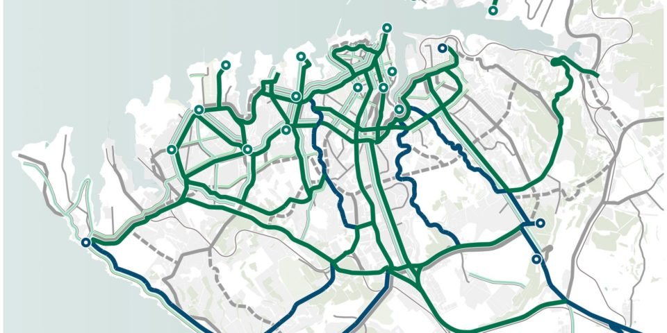 Предложенные велосипедные маршруты