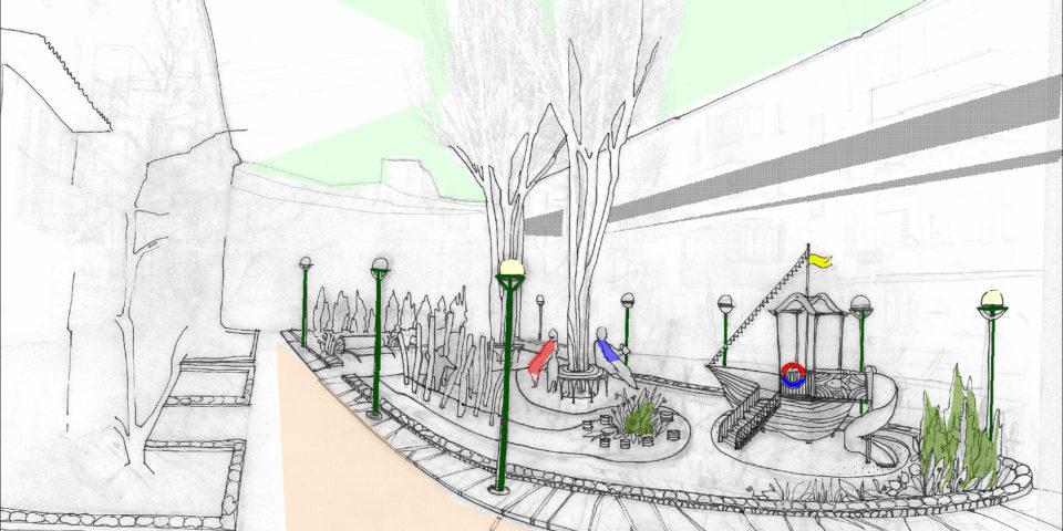Образ дворового пространства