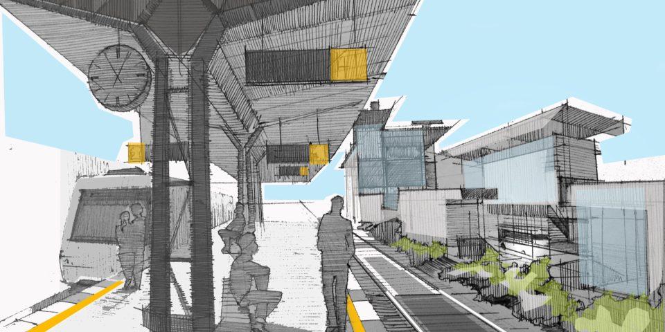 Вид с железнодоржной станции Сертолово