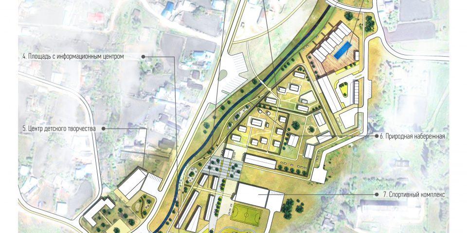 Концепция развития центральной зоны Курорта Гумлокт