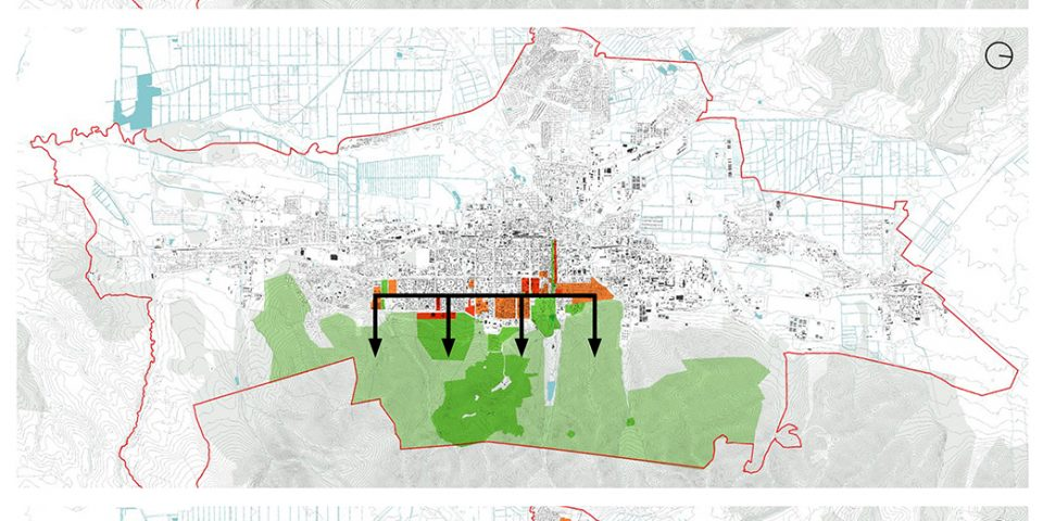 Три варианта развития города