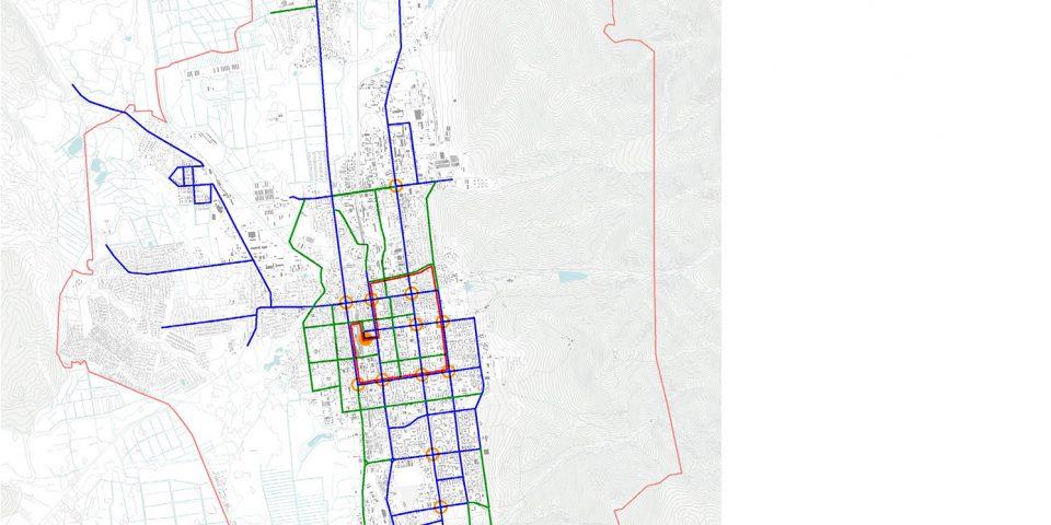 Предложения по развитию каркаса общественного транспорта