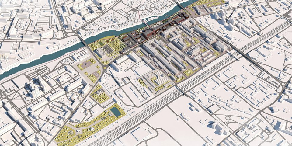Концепция трансформации центра Орехово-Зуево. Визуализация