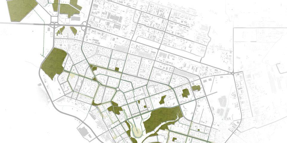Аналитика рекреационных городских пространств