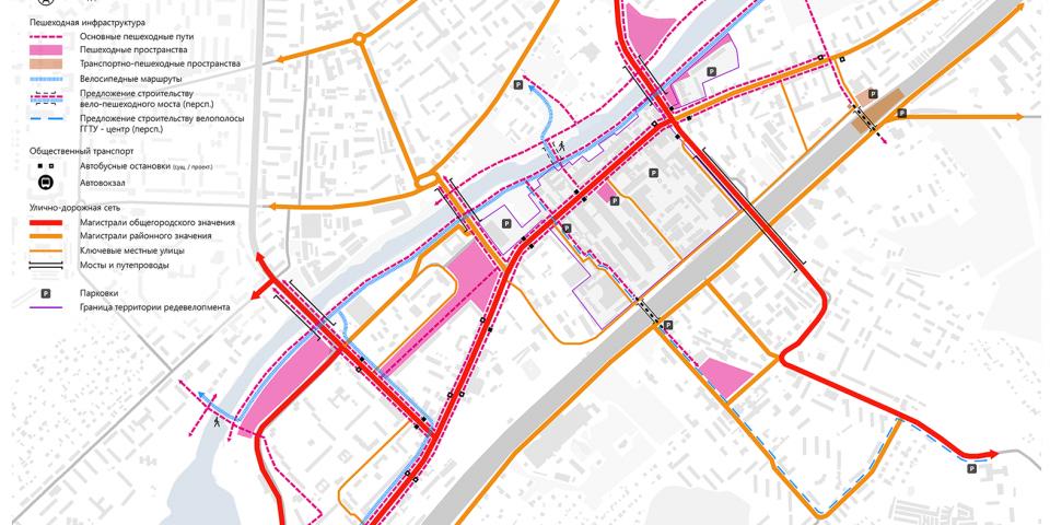 Схема развития транспортной инфраструктуры